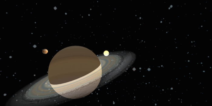 3D Solar System in WebGL