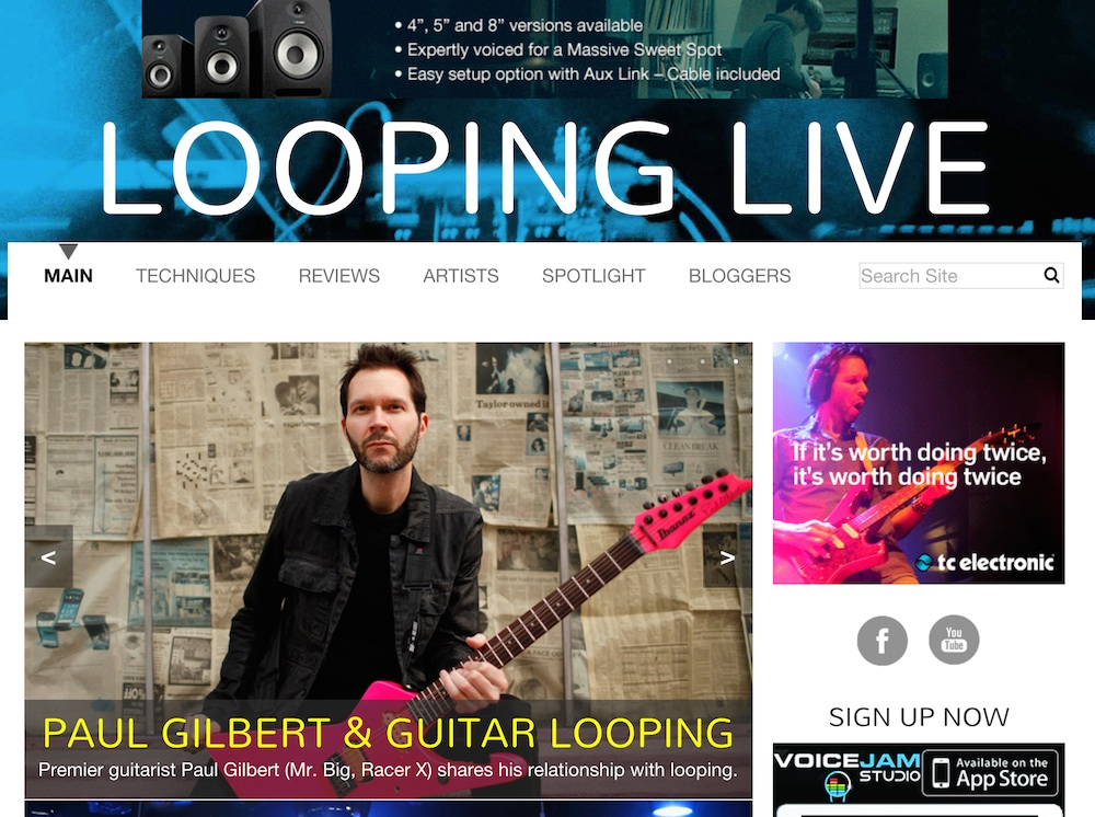 Looping Live